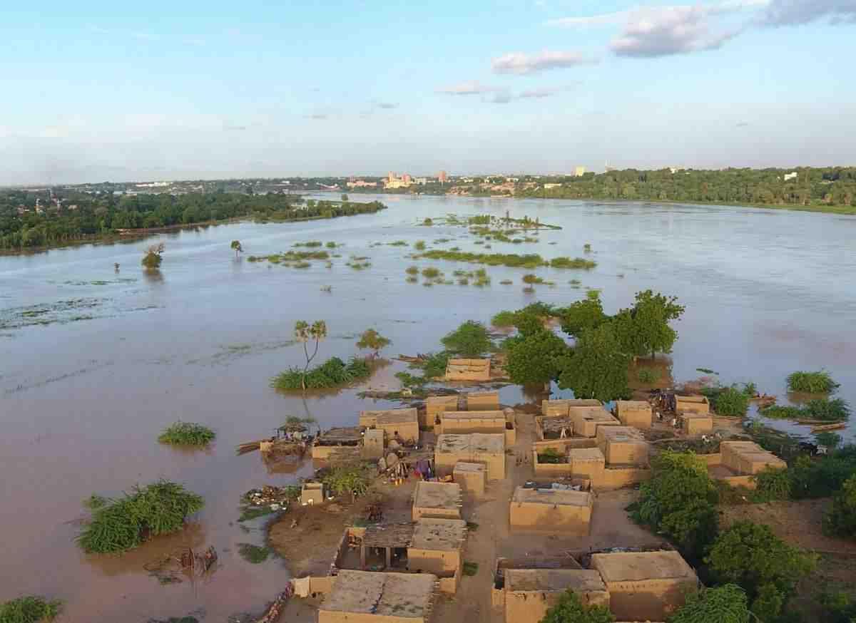 Où se situe le Niger dans l'Afrique ?