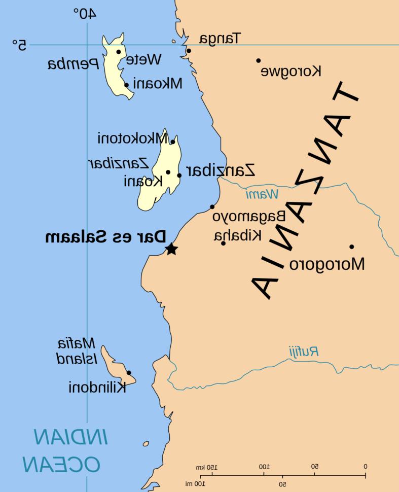 Quel est l'ancien nom de la Tanzanie ?